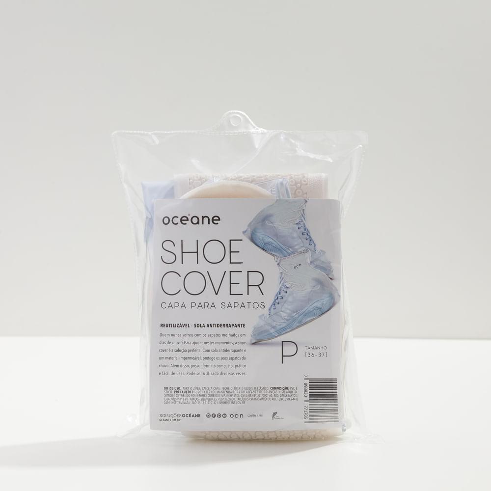 Capa P/ Sapatos Transparentes Tamanho P - Shoe Cover