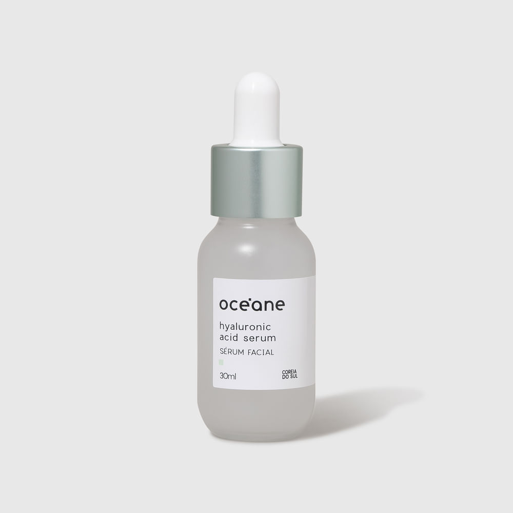Serum Facial C/ Áci. Hialurônico - Hyaluronic Acid Serum 30ml
