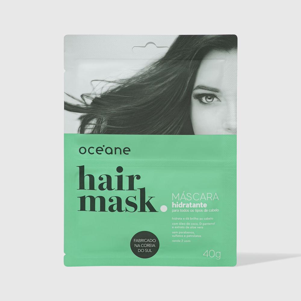 Máscara Capilar Hidratante P/ Todos Os Tipos de Cabelo - Hair Mask 40g