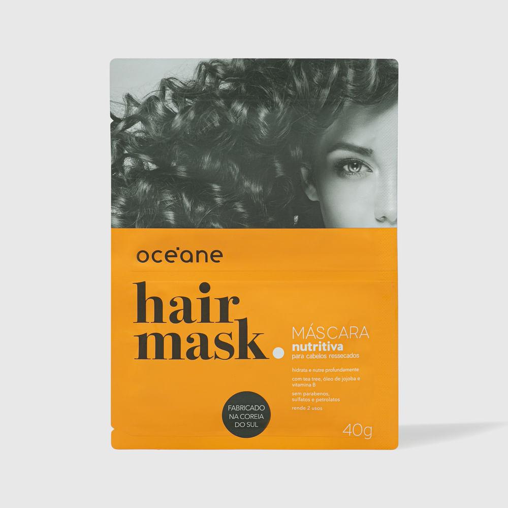 Máscara Capilar Nutritiva P/ Cabelos Ressecados - Hair Mask 40g
