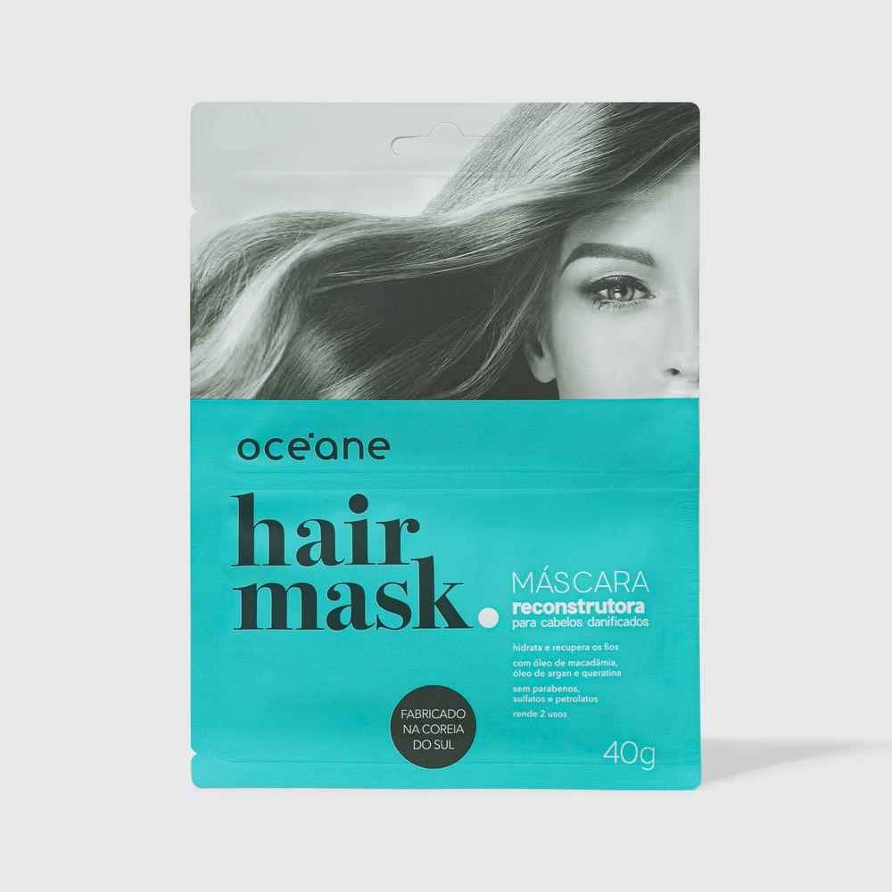 Máscara Capilar Reconstrutora P/ Cabelos Danificados - Hair Mask 40g