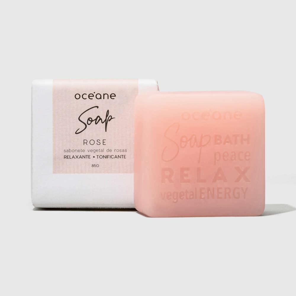 Sabonete Vegetal de Rosas - Rose Soap 85g