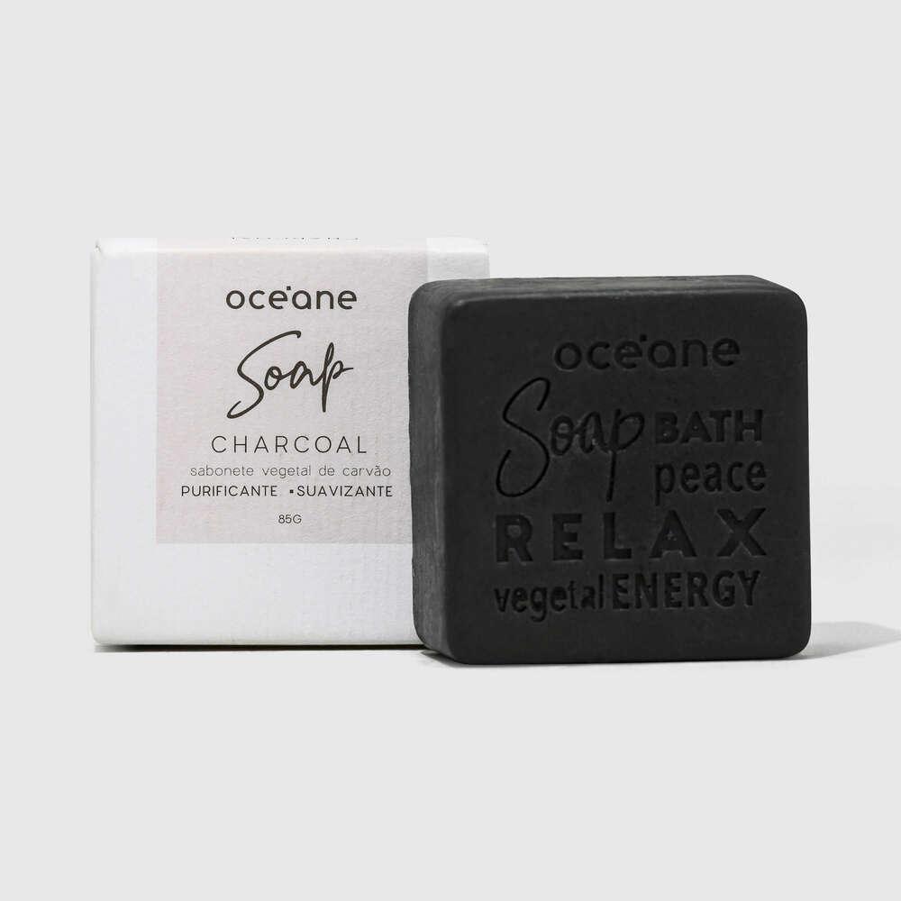 Sabonete Vegetal de Carvão - Charcoal Soap 85g