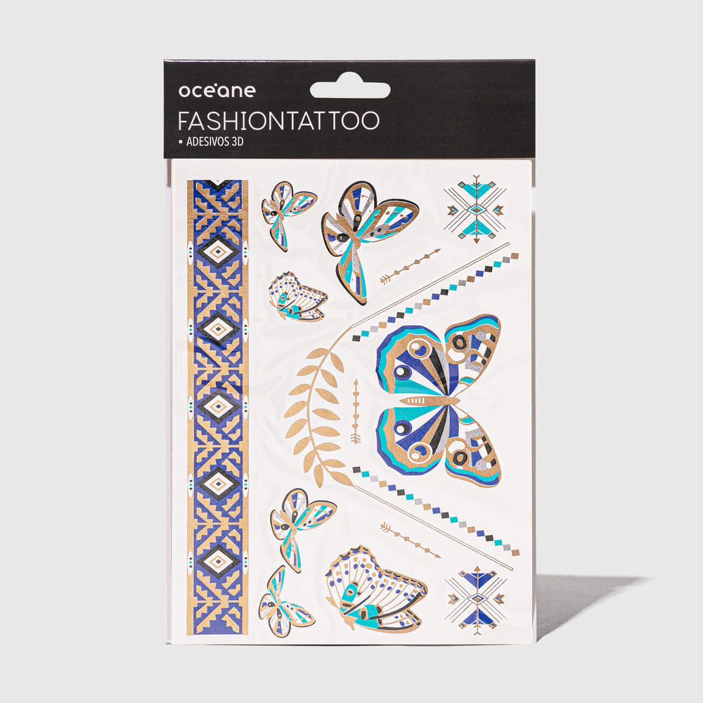 Tatuagem Temporária - Fashion Tattoo Ft10