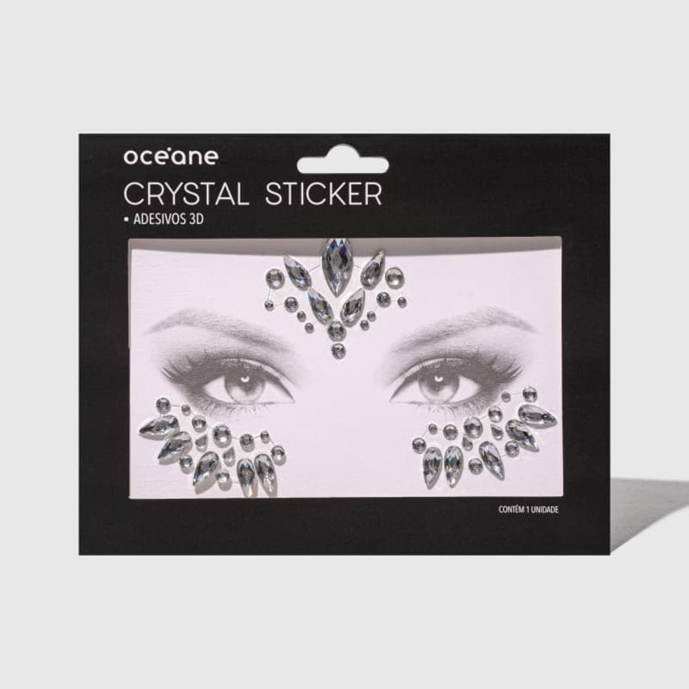 Adesivo Facial 3d - Crystal Sticker Cs4