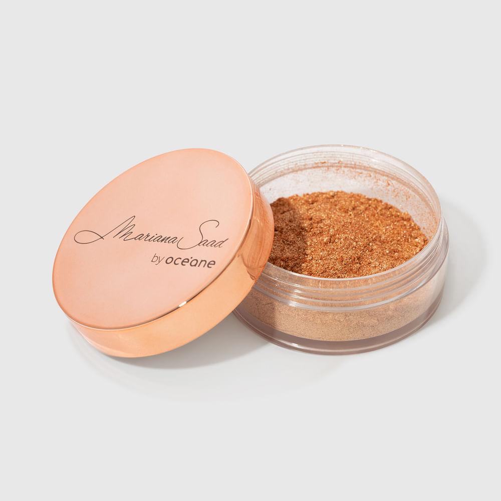 Iluminador Facial Dourado Mariana Saad - Skin Shine Gold 8g