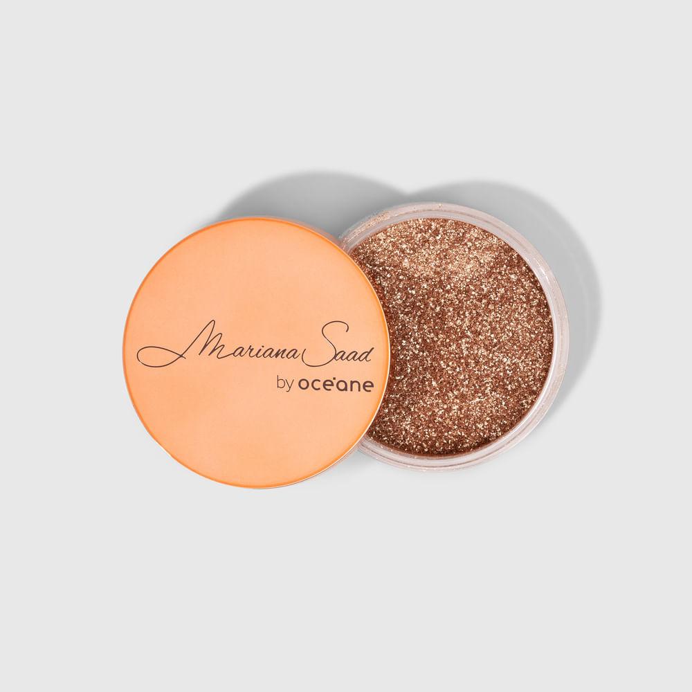 Iluminador Facial Dourado Mariana Saad - Skin Shine Ultra Shine 4g