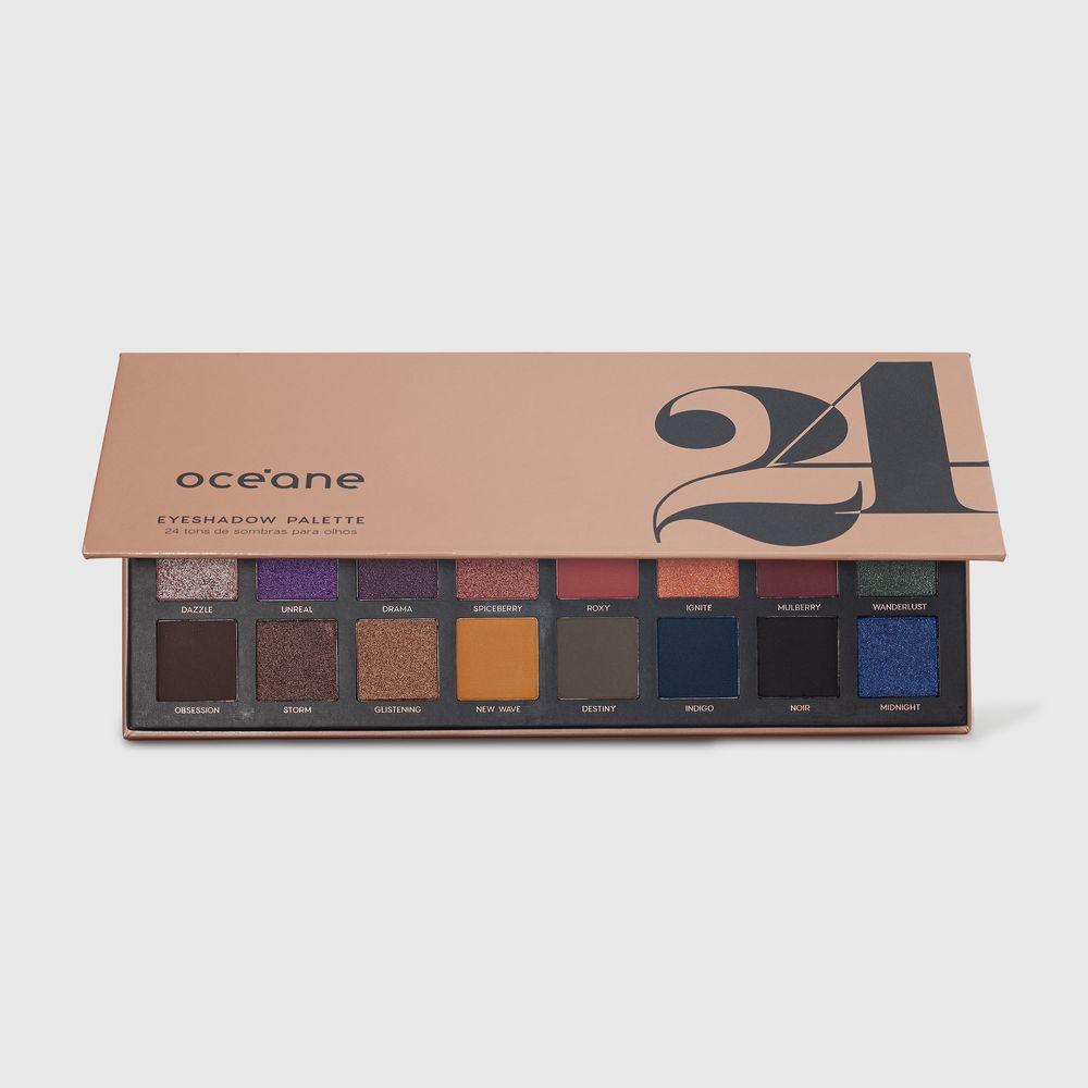 Paleta de Sombras 24 Cores - 24 Eyeshadow Palette 28g