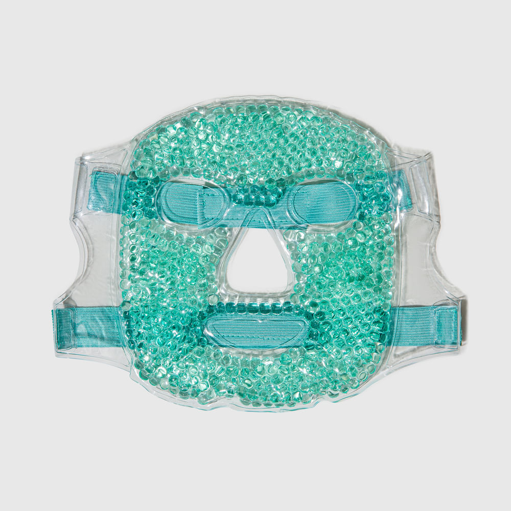 Máscara Facial C/ Esferas em Gel P/ Quente ou Frio - Hot & Cold Gel Face Mask