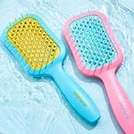 Escova de Cabelo Rosa Joy Brush e Escova de Cabelo Rosa Joy Brush