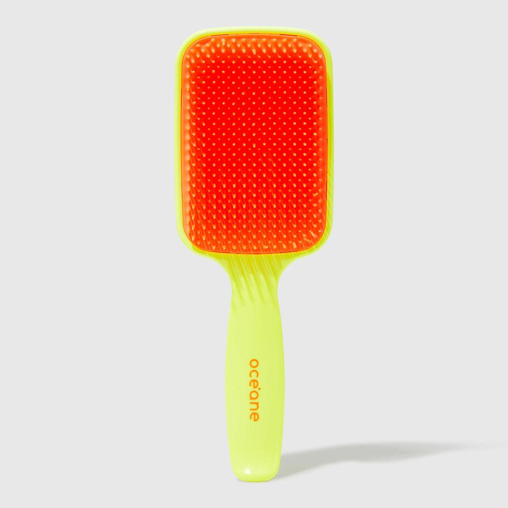 Escova de Cabelo Desembaraçadora Amarela - Neon Brush