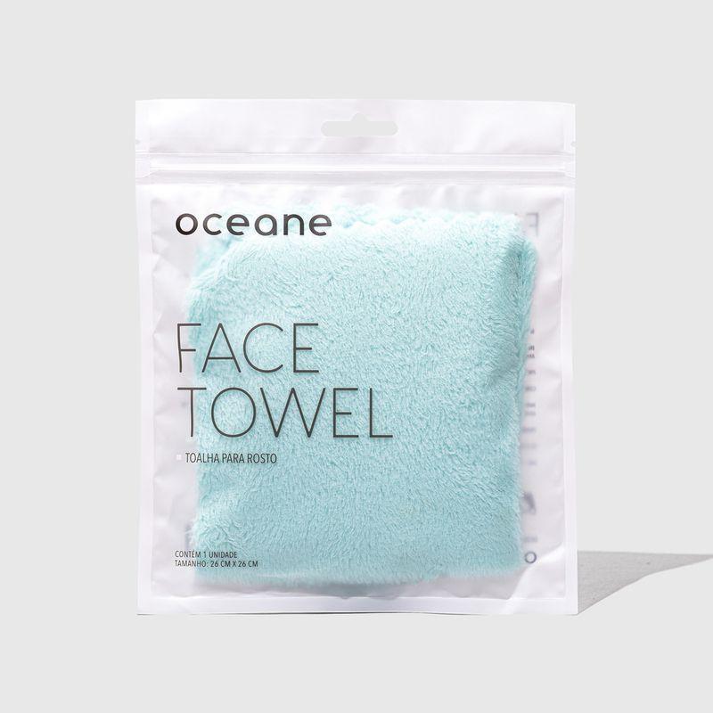 embalagem Toalha Para Rosto Face Towel fechada frente