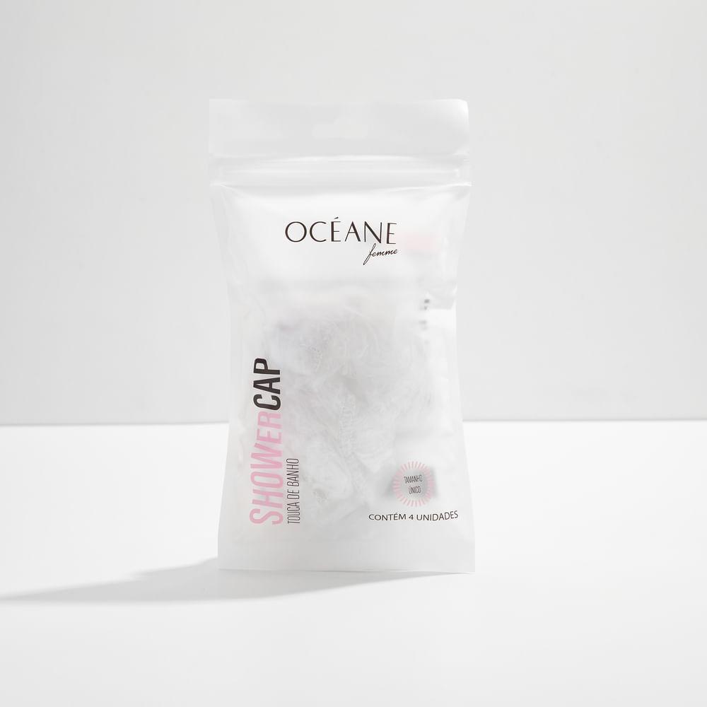 Touca de Banho Transparente - Shower Cap 4un