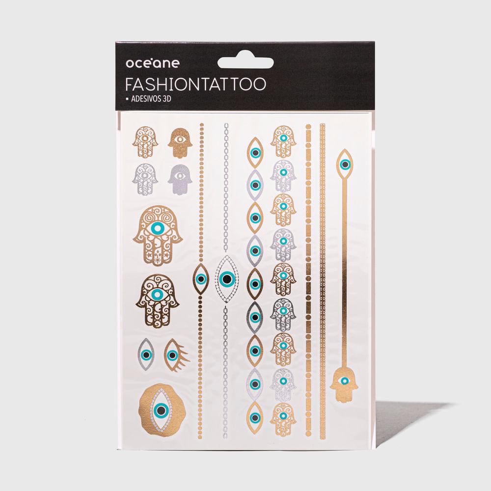Tatuagem Temporária - Fashion Tattoo Ft7