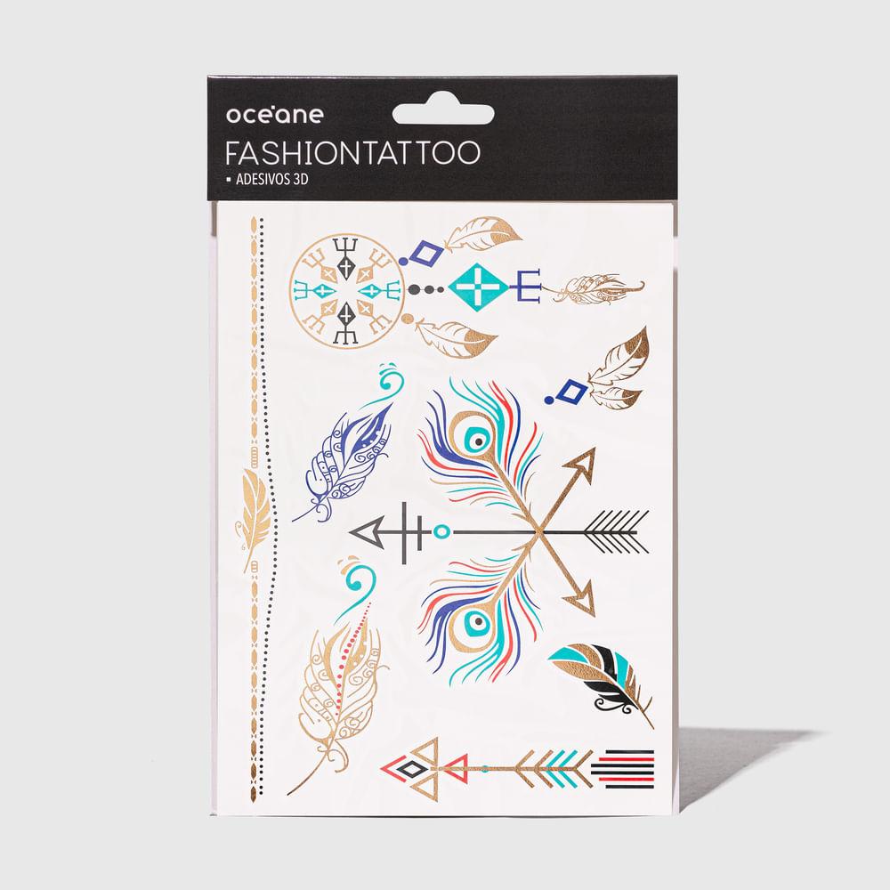 Tatuagem Temporária - Fashion Tattoo Ft9