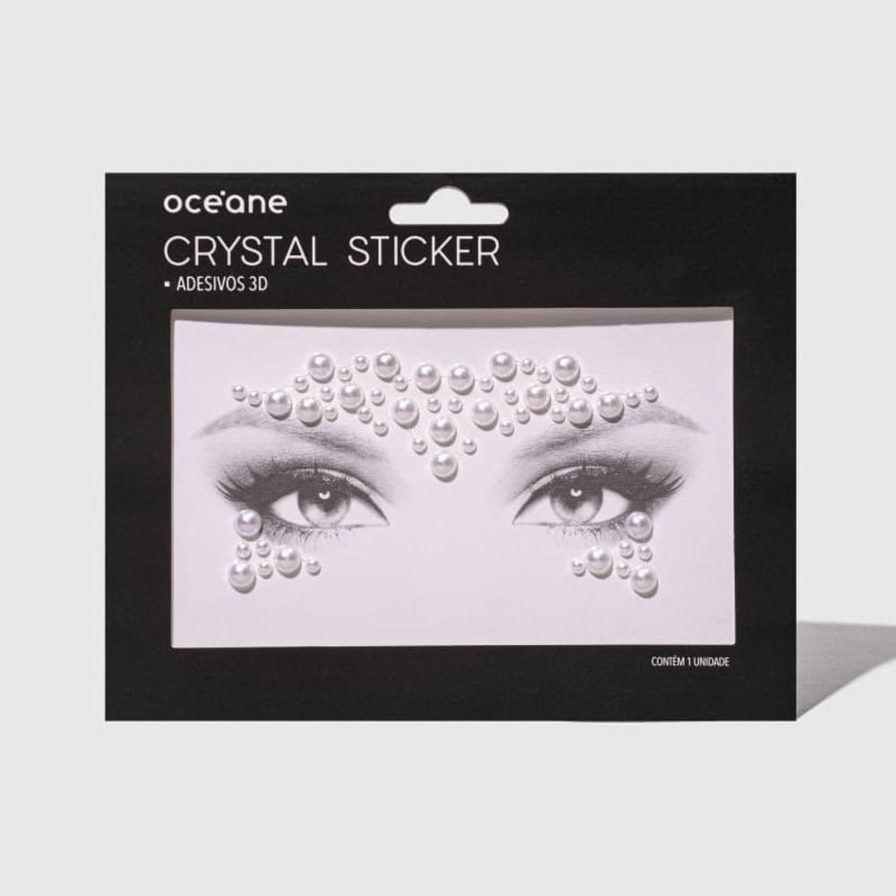 Adesivo Facial 3d - Crystal Sticker Cs7