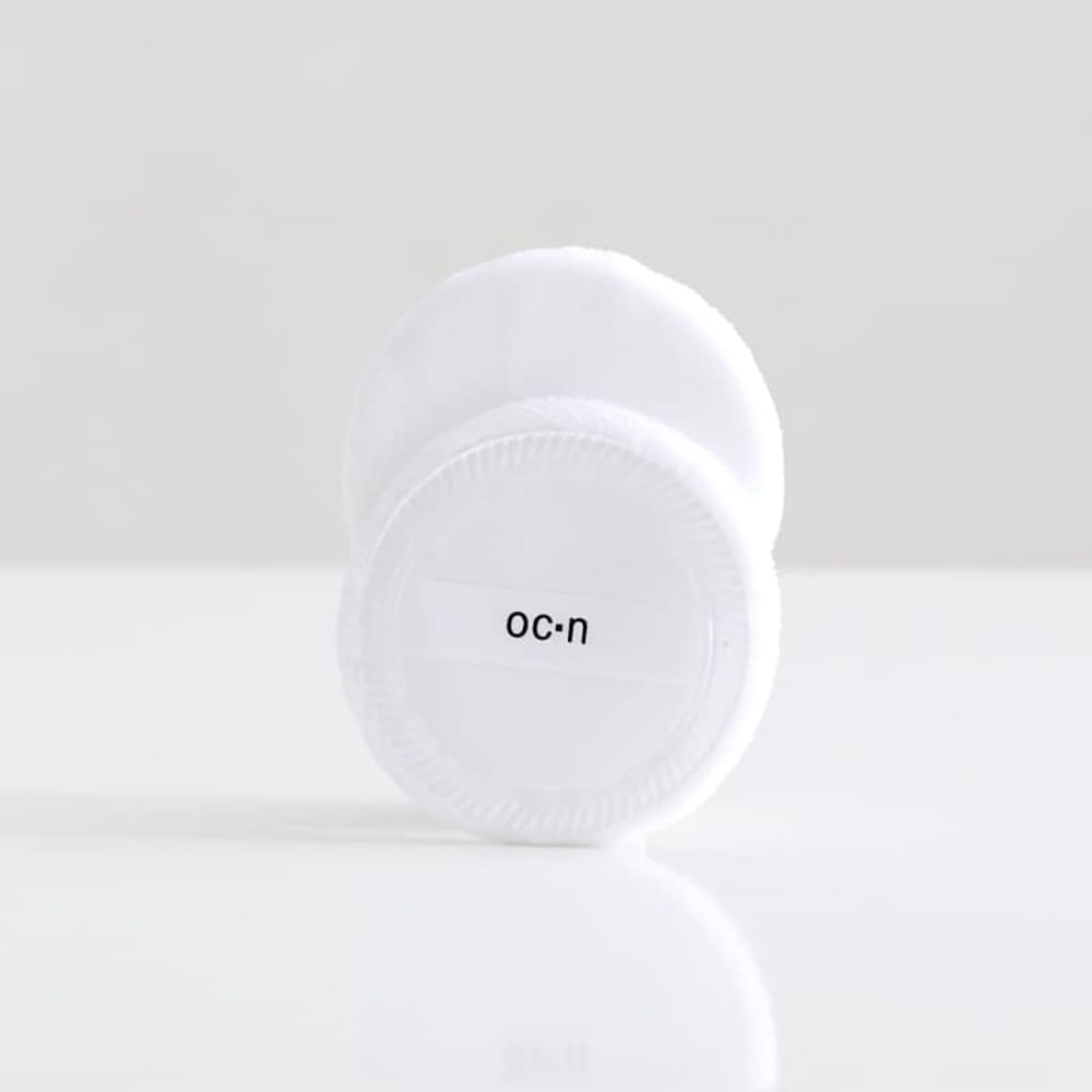 Esponja de Maquiagem Para Pó Compacto - Cotton Puff 2un