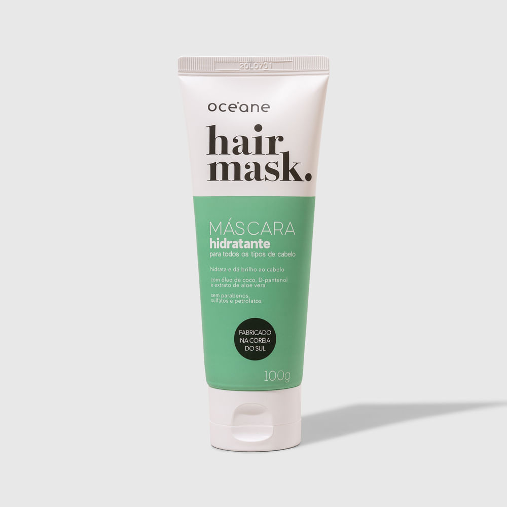 Máscara Capilar Nutritiva P/ Cabelos Ressecados Bisnaga - Hair Mask 100ml
