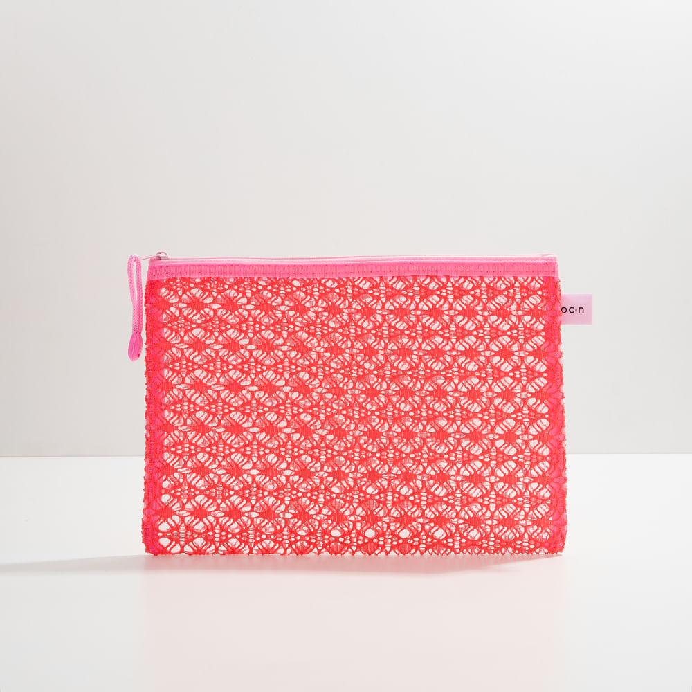 Nécessaire Rosa - Lace Bag M