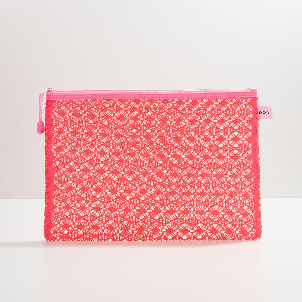 Nécessaire Rosa - Lace Bag G