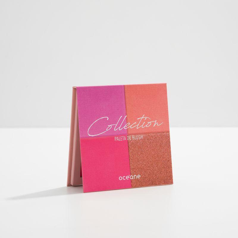 Paleta de Blushes Collection fechada lateral