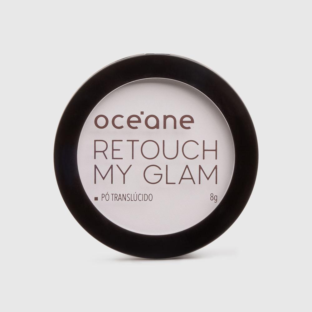 Pó Facial Compacto Translucido - Retouch My Glam 8g