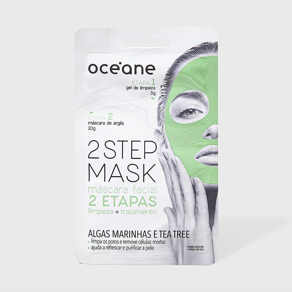 Máscara Facial 2 Etapas de Algas Marinhas e Tea Tree - Dual Step Mask 13g