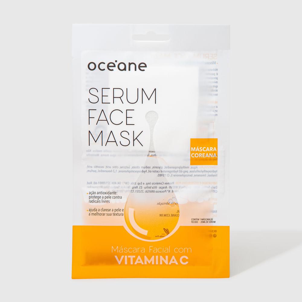 Máscara Facial C/ Vitamina C - Serum Face Mask 20ml
