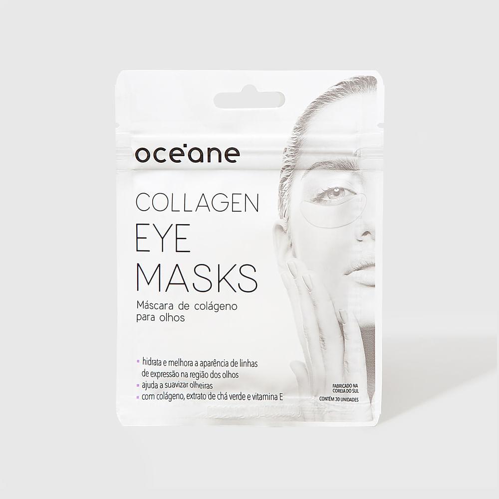Máscara P/ Olhos com Colágeno - Collagen Eye Mask 30un
