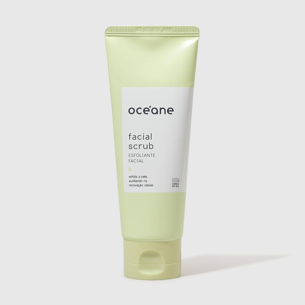 Esfoliante Facial C/ Ext. de Bambu - Facial Scrub 100ml