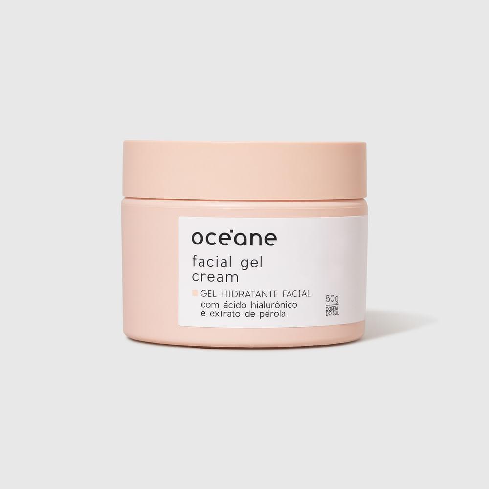 Gel Hidratante Facial C/ Ext. de Pérola - Facial Gel Cream 50g