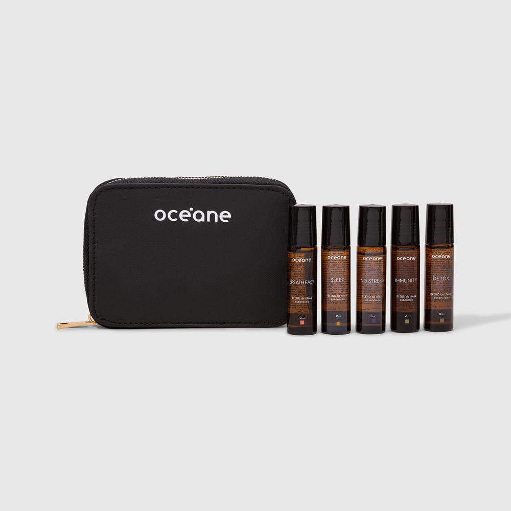 Kit de Blends de Óleos Essenciais Roll On - Aromatherapy Set