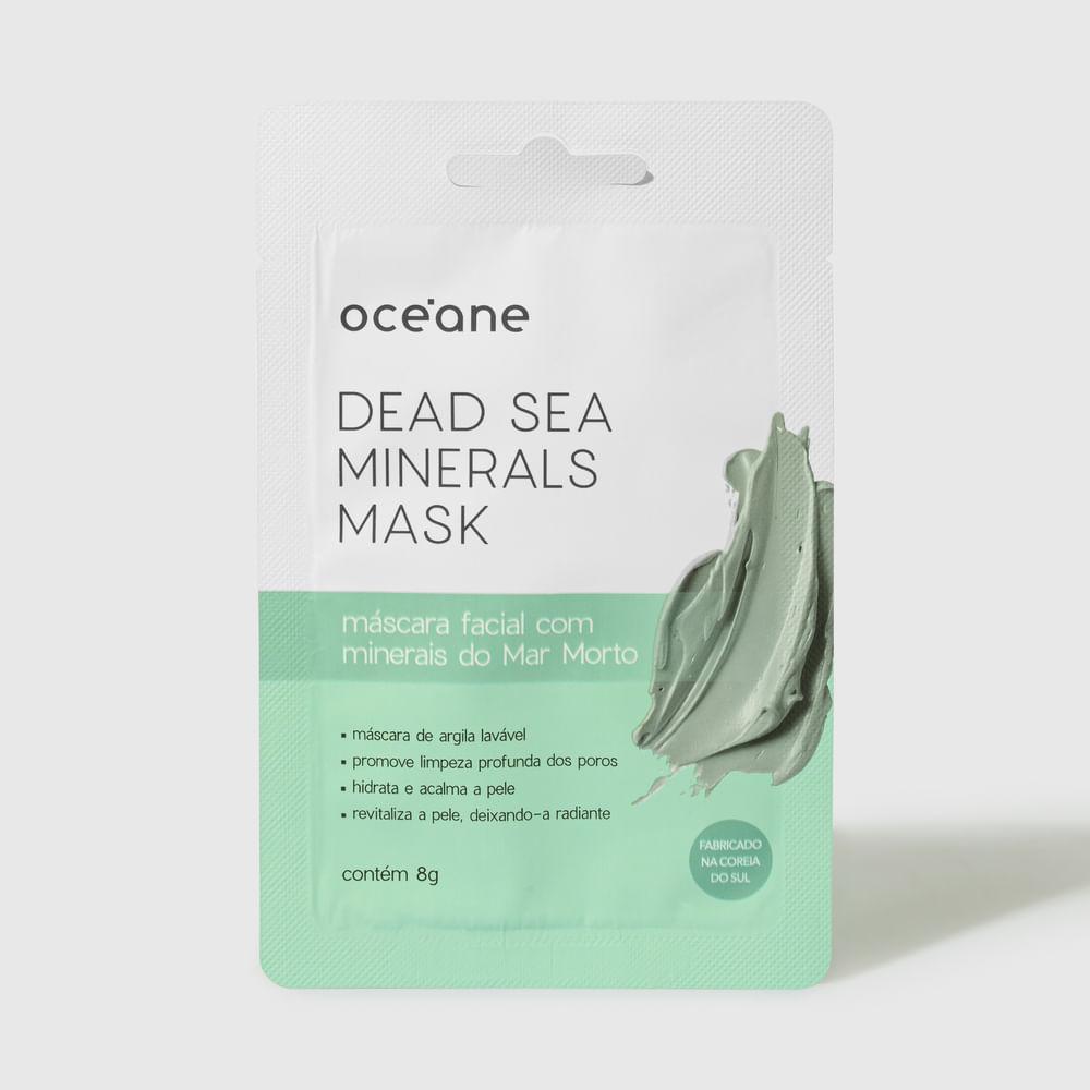 Máscara Facial C/ Mineiras do Mar Morto - Dead Sea Minerals Mask 8g