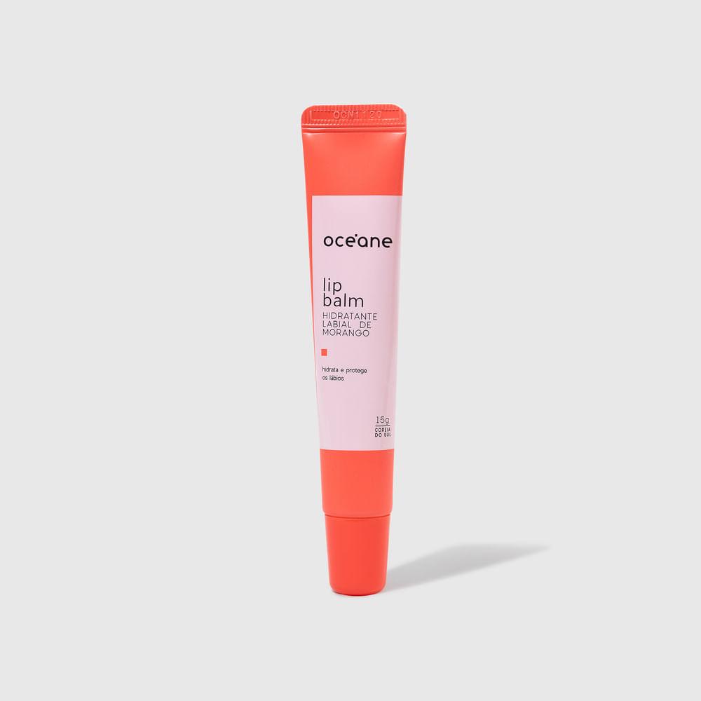 Hidratante Labial Morango - Lip Balm 15g