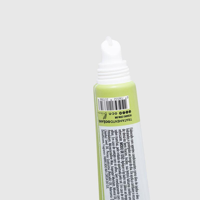 Hidratante Labial Menta Lip Balm 15g aberta detalhe aplicador
