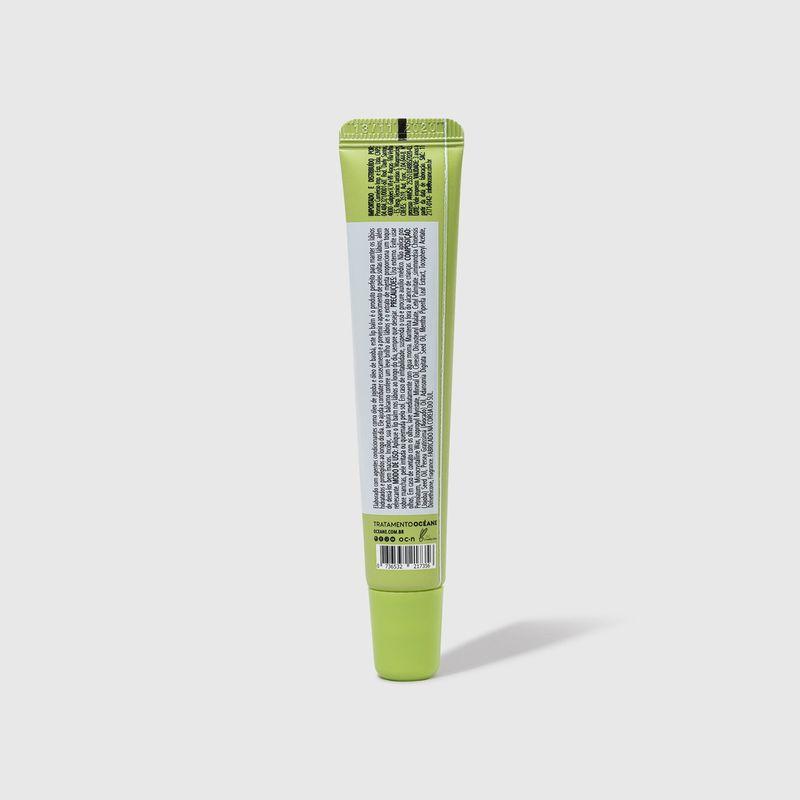 Hidratante Labial Menta Lip Balm 15g fechada verso