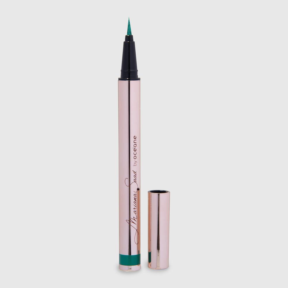 Caneta Delineadora de Olhos Verde Mariana Saad - Eyeliner Real Green 1,8g