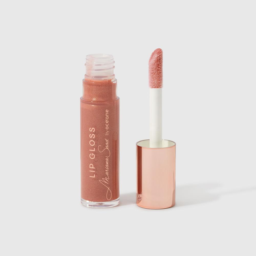 Brilho Labial Nude Mariana Saad By Océane - Lip Gloss Nude Me 6,3g
