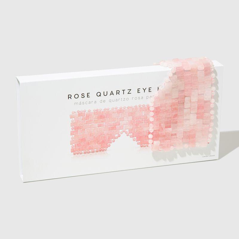 Embalagem Máscara de Quartzo Rosa Rose Quartz Eye Mask fechada frente
