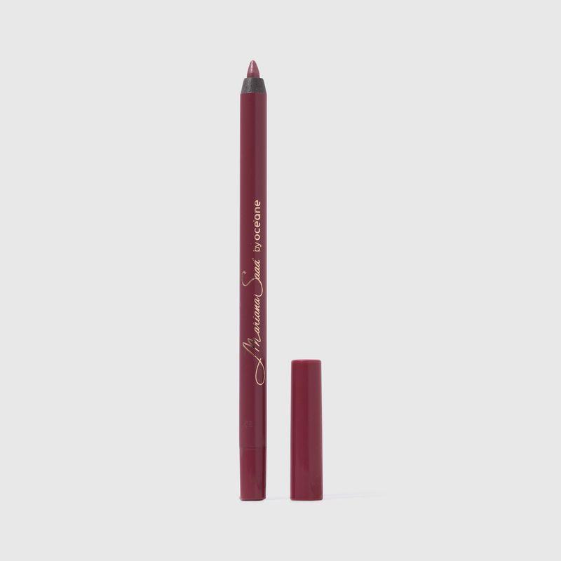 lápis de contorno labial rosa cintilante mariana saad by oceane soulmate com tampa aberta ao lado direito