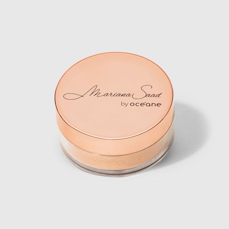 Iluminador Facial Rosa Mariana Saad Skin Shine Rose Gold embalagem fechada frente
