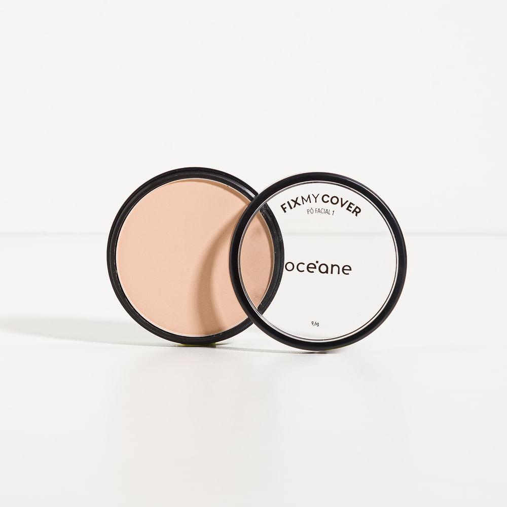 Pó Facial Compacto Matte - Fix My Cover 1 9,6g