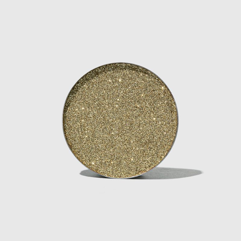 Sombra unitária Para Olhos Glitter Series Dourada aberta frente