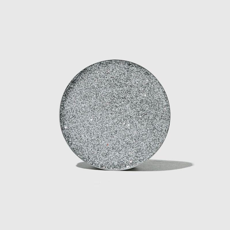 Sombra unitária Para Olhos Glitter Series Prata aberta frente