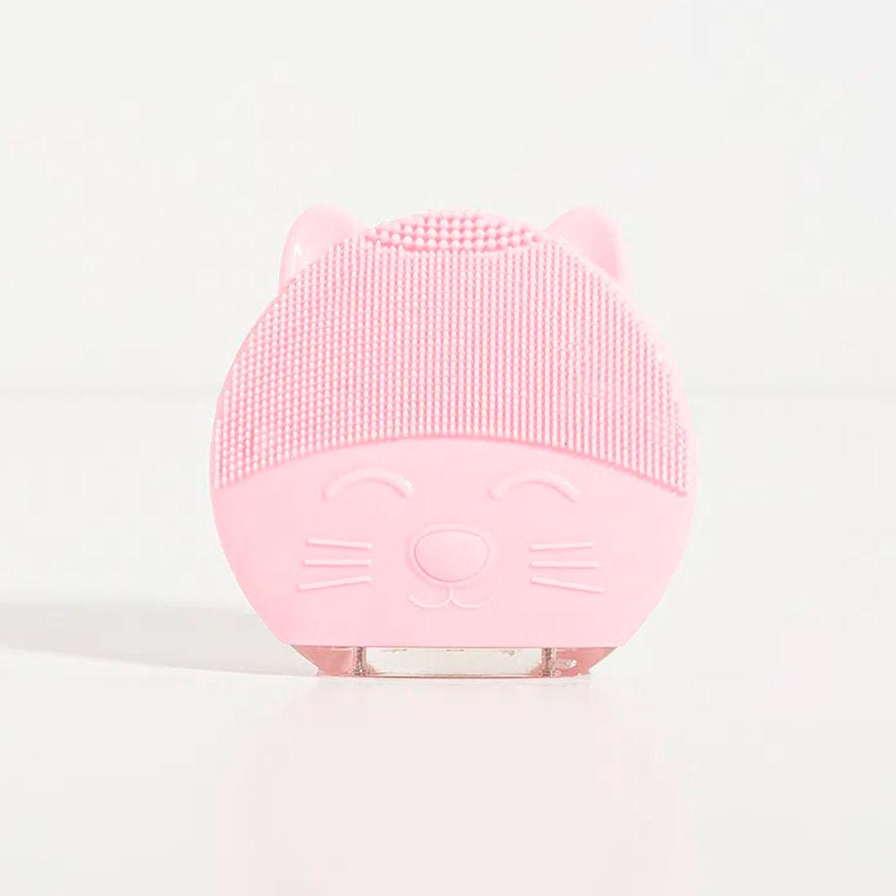 Aparelho de Limpeza Facial Elétrico Rosa - Cat Cleaner