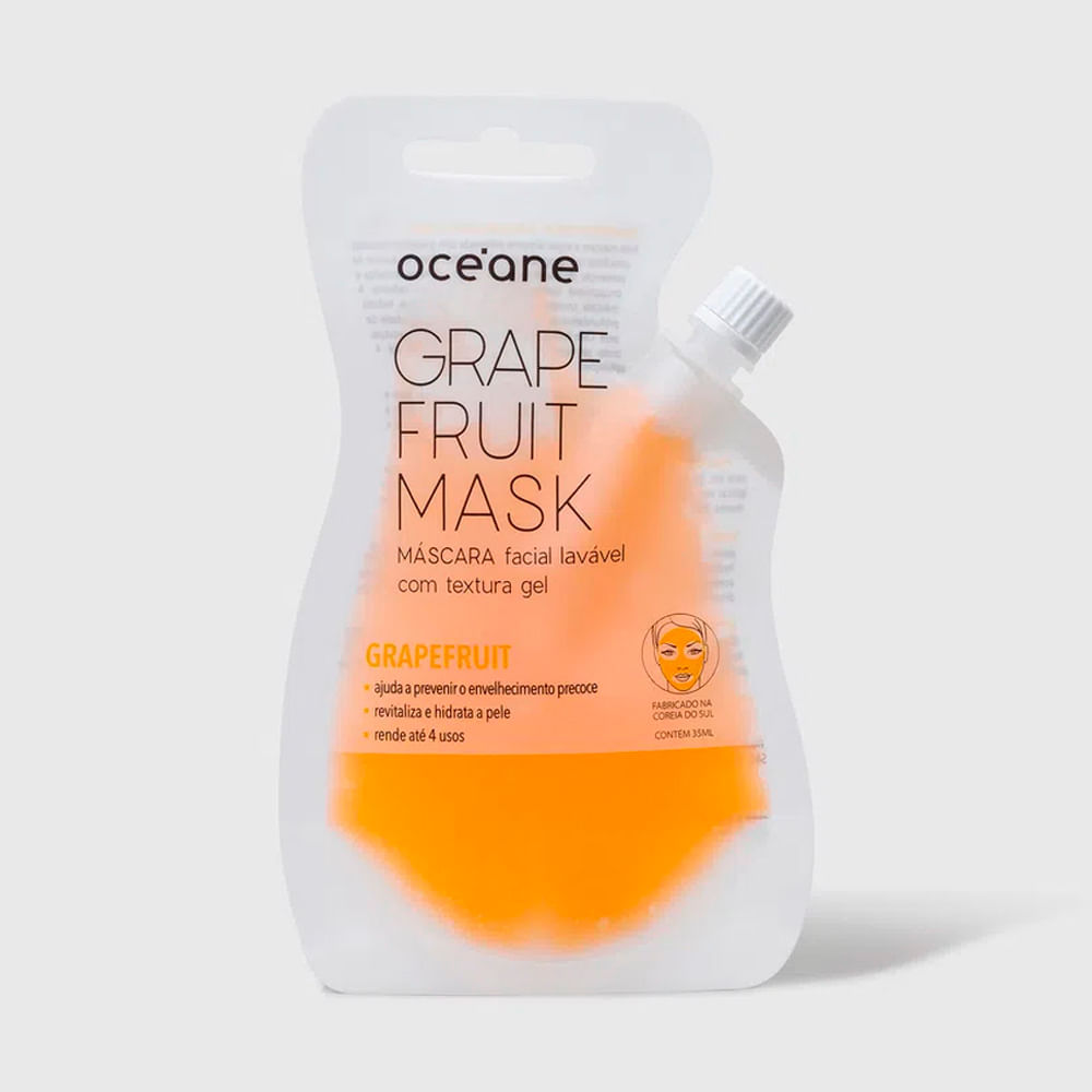 Máscara Facial Anti-Idade de Toranja - Grapefruit Mask 35ml