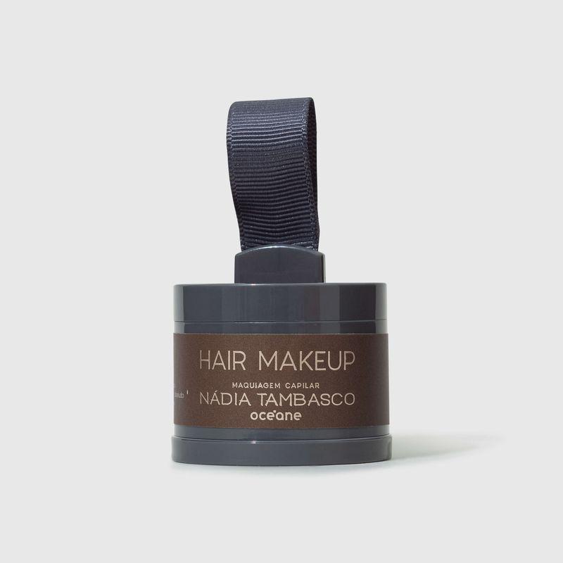 Maquiagem Capilar Castanho escuro Hair Makeup Nádia Tambasco 4g fechada frente