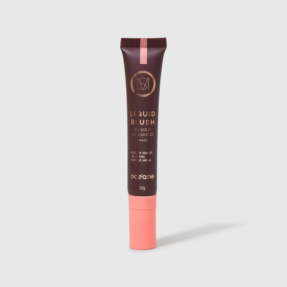 Blush Líquido Rosa Claro Mariana Saad By Océane - Liquid Blush Grace 12g