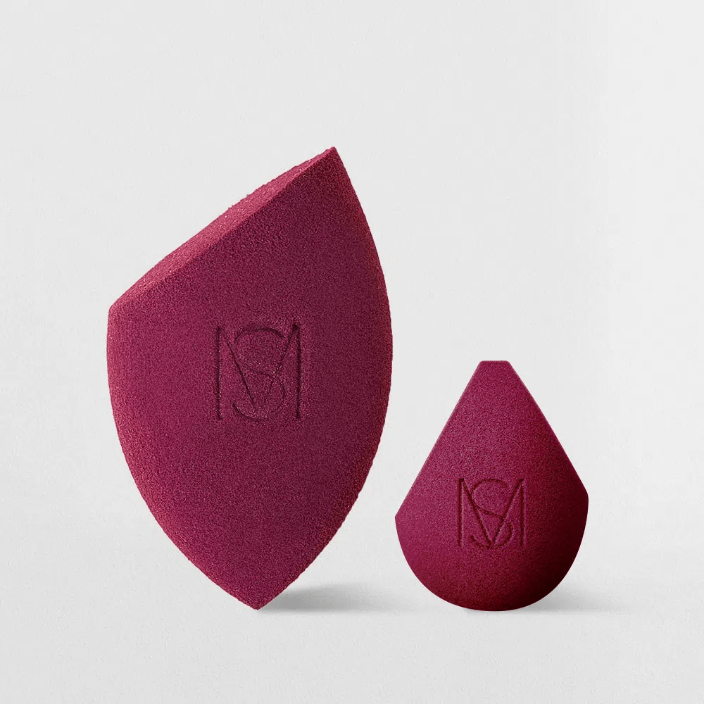 Kit Esponjas de Maquiagem Mariana Saad By Océane – Flat Blend e Sister Blend
