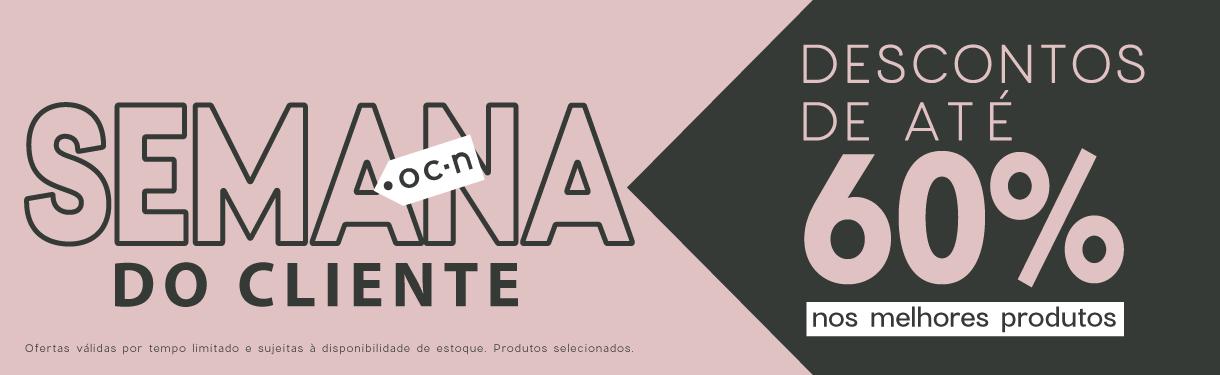 Banner promoção Semana do Cliente